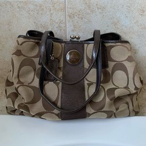 Good condition coach purse